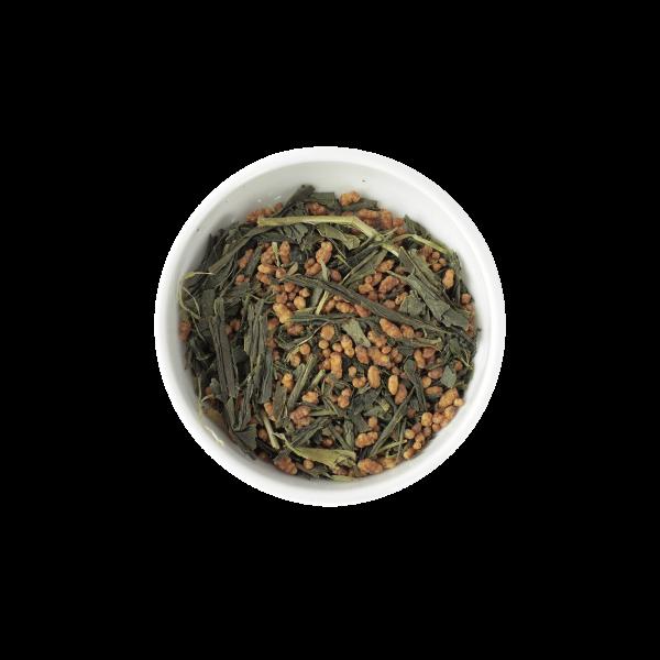 Žalioji arbata su ryžiais